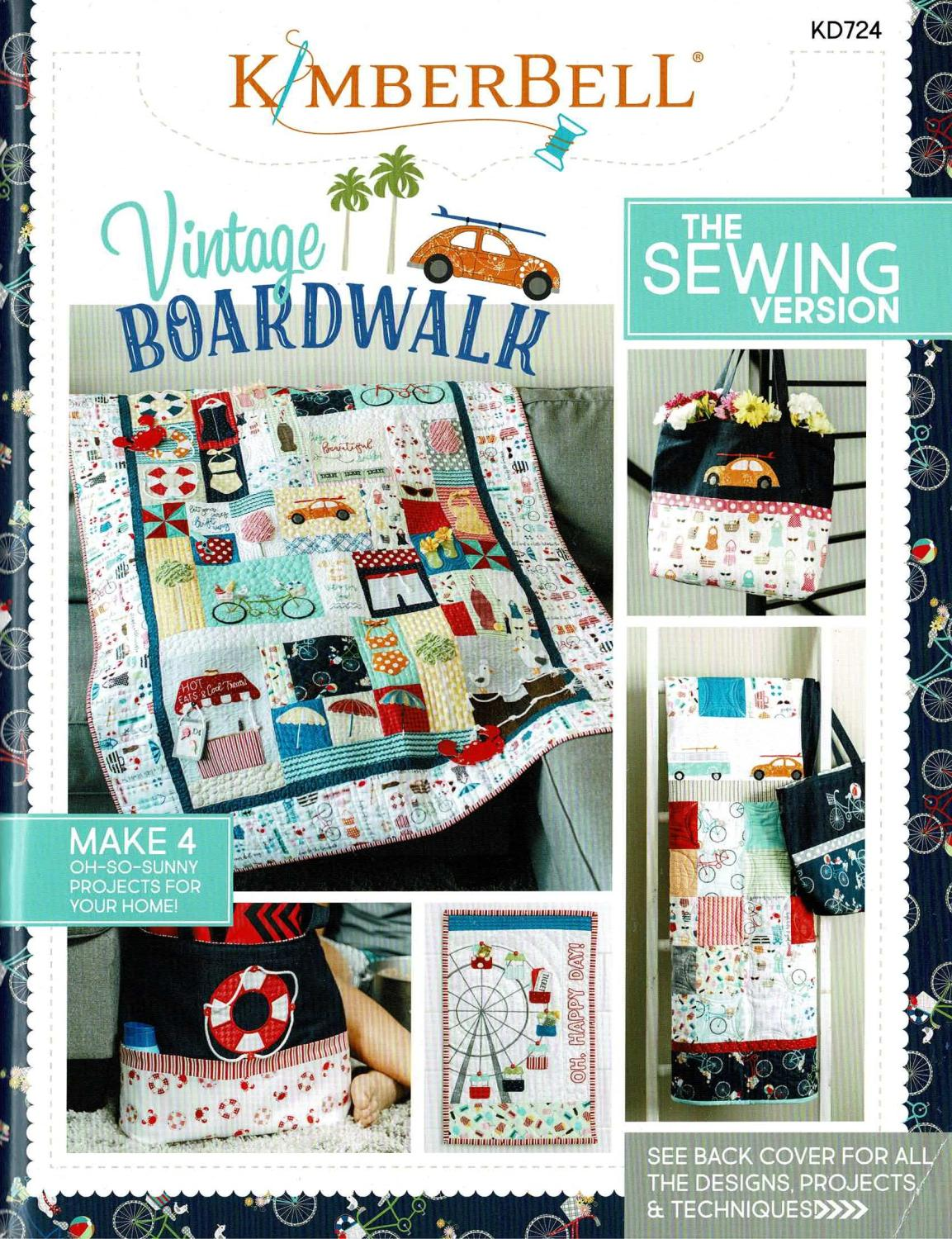 Kimberbell Vintage Boardwalk - Sewing Version