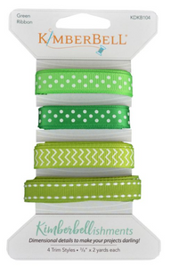 Kimberbellishments - Green Ribbon Set