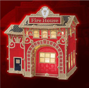 OESD - Christmas Village Firehouse