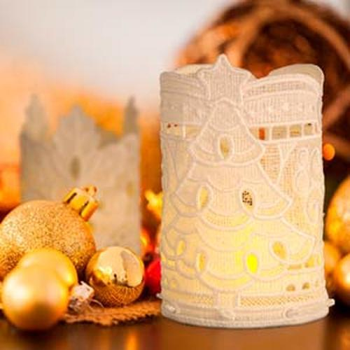 OESD - Freestanding Christmas Tea Light Holders