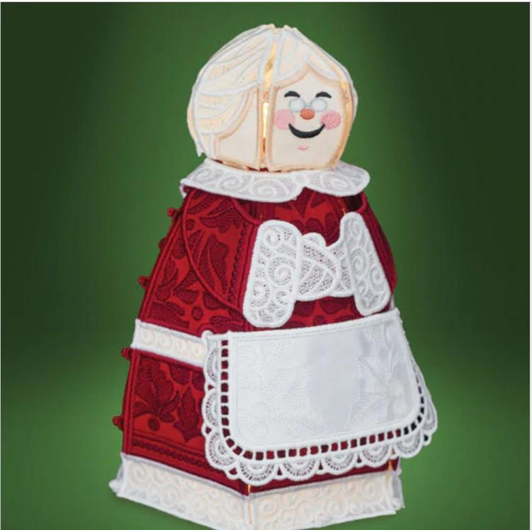 OESD - Freestanding Mrs Claus