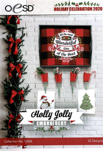 OESD - Holly Jolly Embroidery Holiday Celebration 2020
