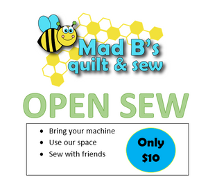 Open Sew Day - June 2021