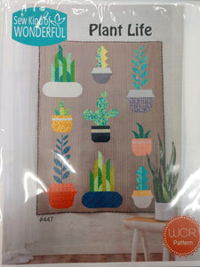 Sew Kind of Wonderful - Plant Life (WCR) Pattern