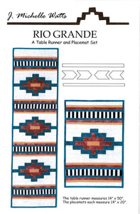 Rio Grande; A Table Runner and Placemat Set
