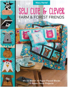Sew Cute & Clever Farm and Forest Friends Book