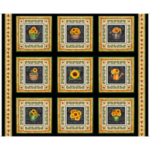 Always Face Sunshine Tiles Panel