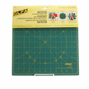 "OLFA Cutting Mat Spinning 12"" Square"