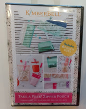 Load image into Gallery viewer, Kimberbell Take A Peek! Zipper Pouch Embroidery Software