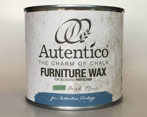 Autentico Colored Furniture Wax 250 ml Dried Moss