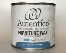Load image into Gallery viewer, Autentico Colored Furniture Wax 250 ml Swedish Blue