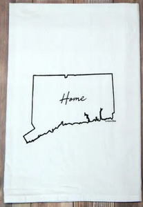 Connecticut Home State Tea Towel