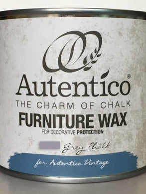 Autentico Colored Furniture Wax Grey 250ml