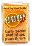 Scrubby Soap, Orange