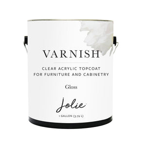 Jolie Varnish GLOSS (CUSTOM ORDER ONLY) Gallon