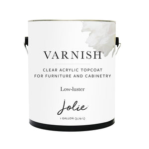 Jolie Varnish Low Lustre (CUSTOM ORDER ONLY) Gallon