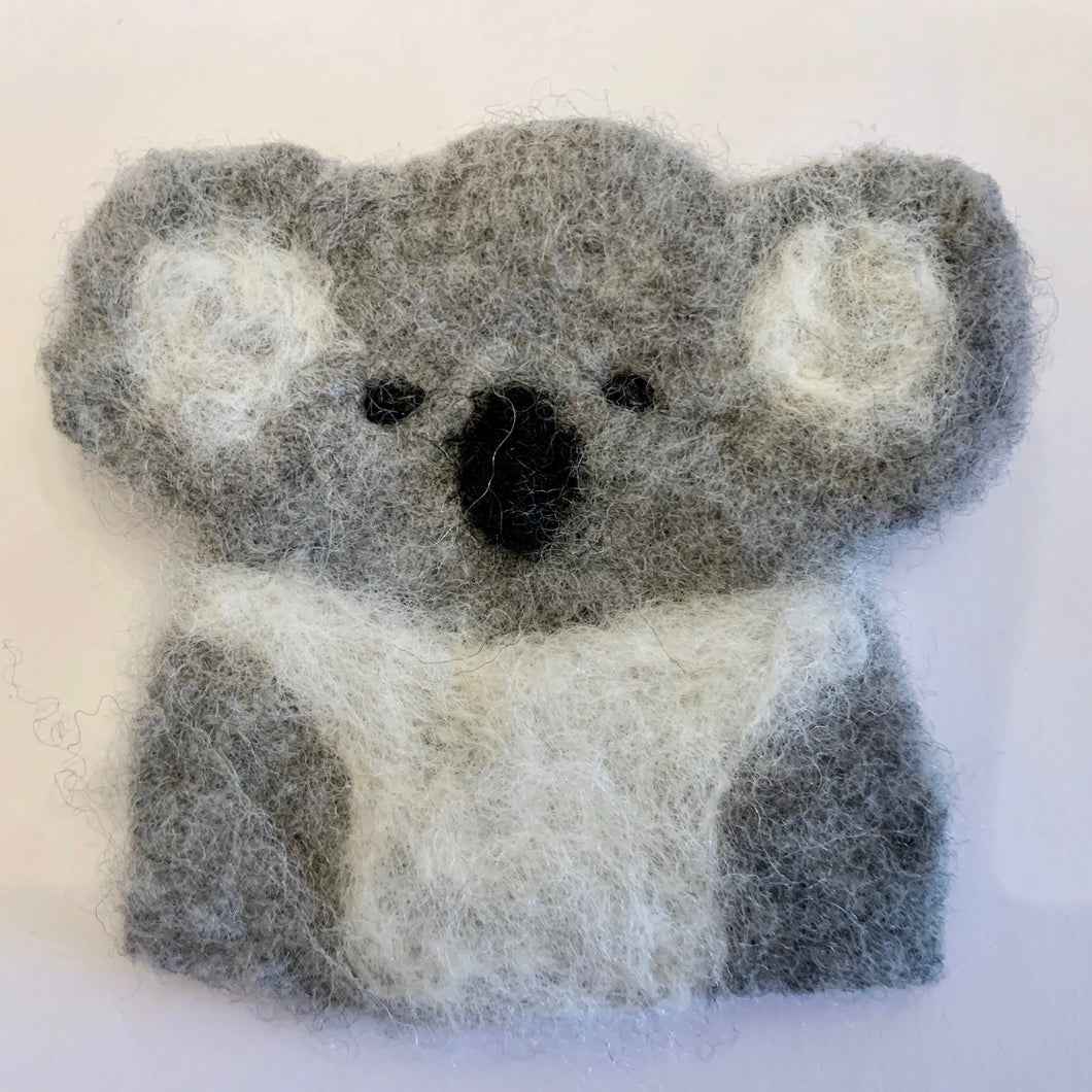 Felted Koala Pin