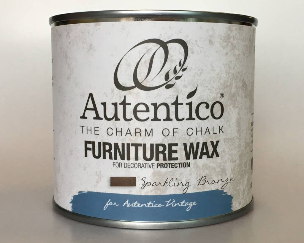 Autentico Metallic Furniture Wax 250 ml Sparkling Bronze