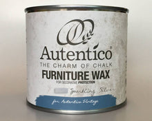 Load image into Gallery viewer, Autentico Metallic Furniture Wax 250 ml Sparkling Silver
