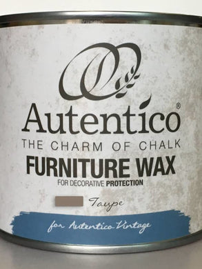 Autentico Colored Furniture Wax Taupe 250ml
