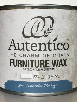 Autentico Colored Furniture Wax White 250ml