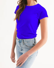 Laden Sie das Bild in den Galerie-Viewer, VA Line  Blaues Damen Shirt