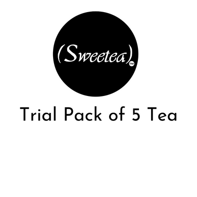 trial pack of 5 tea samples