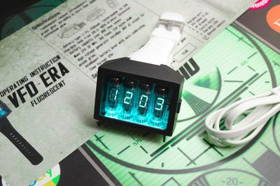 Nixie Tube Watch V3.2 ERA WHITE - NixoidStore