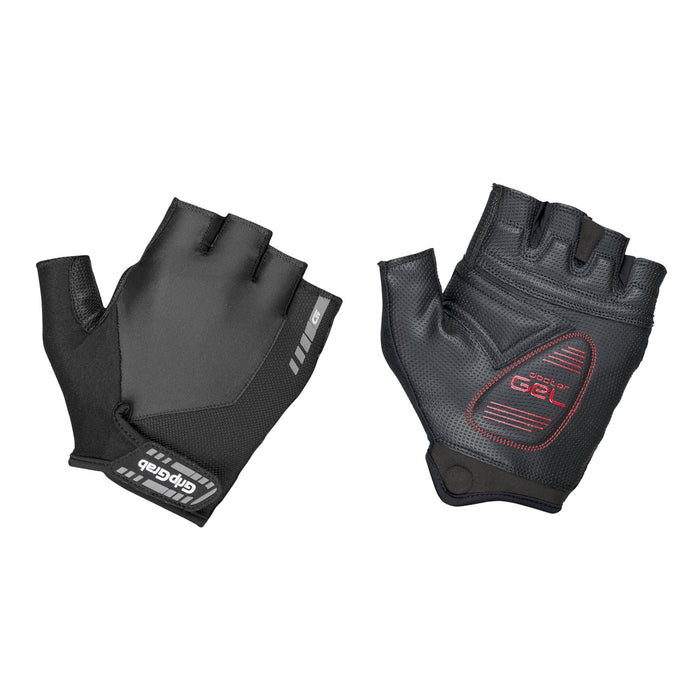 GripGrab ProGel Padded Short Finger Glove Black