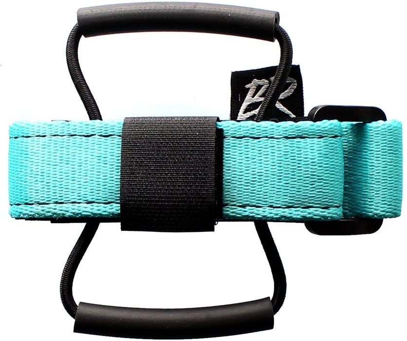 Backcountry Research Race Strap with Overlock MTB Saddle Mount - Turquoise