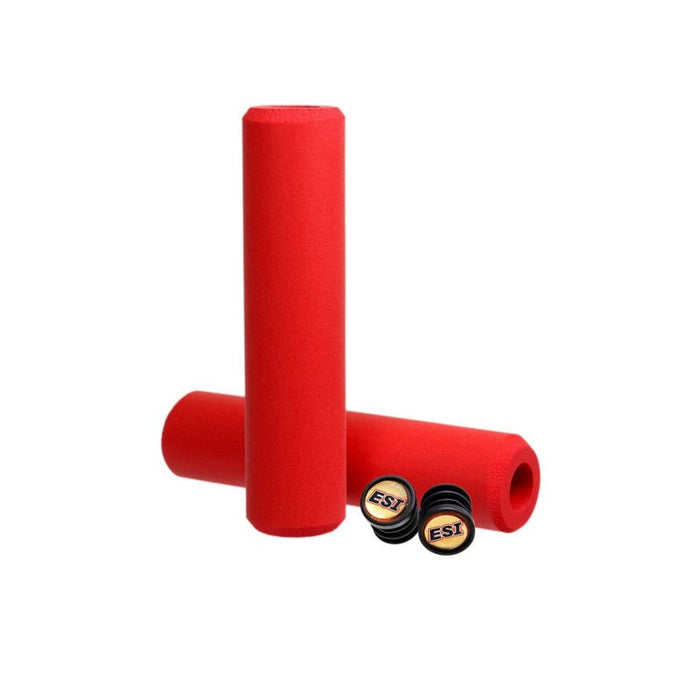 ESI Extra Chunky MTB Grips Red