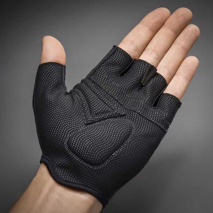 GripGrab Rouleur Padded Short Finger Glove Black Palm