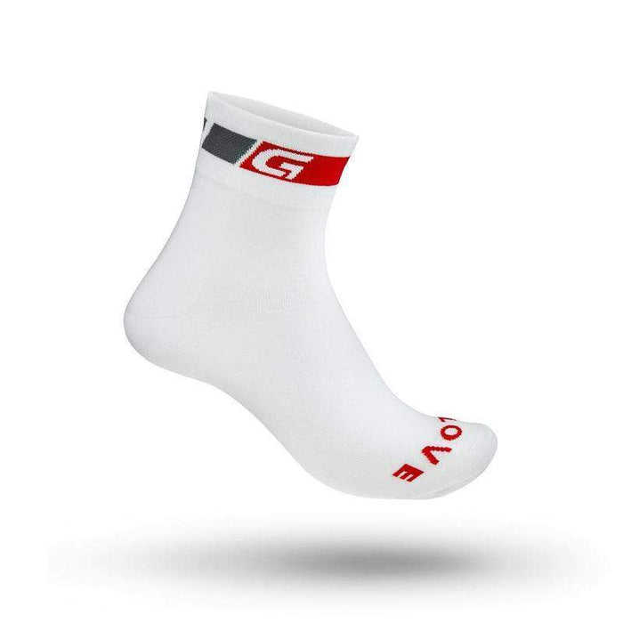 GripGrab Classic Regular Cut Sock White
