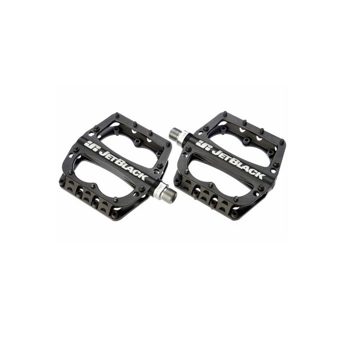 Superlight Low Profile MTB Pedals Black w Sealed Bearings/Cromo Axle