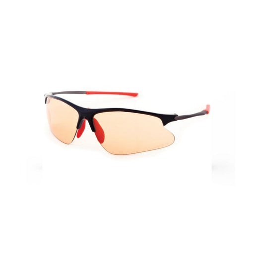 Svelto Cycling Glasses Black (Red Tips) Orange Photochromic Lens