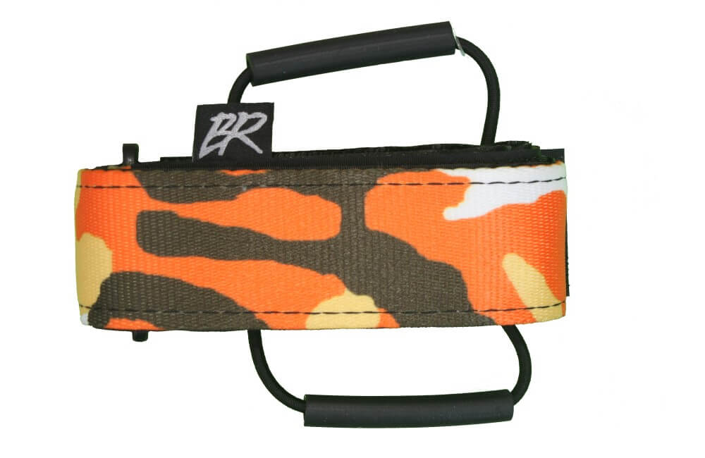 Backcountry Research Mutherload Magnum Frame Mount Strap - Orange Black Camo