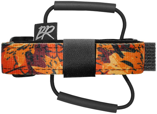Backcountry Research Race Strap with Overlock MTB Saddle Mount - Orange Black Camo