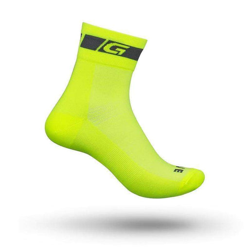 GripGrab GripGrab Classic Hi-Vis Regular Cut Sock Hi-Vis Yellow
