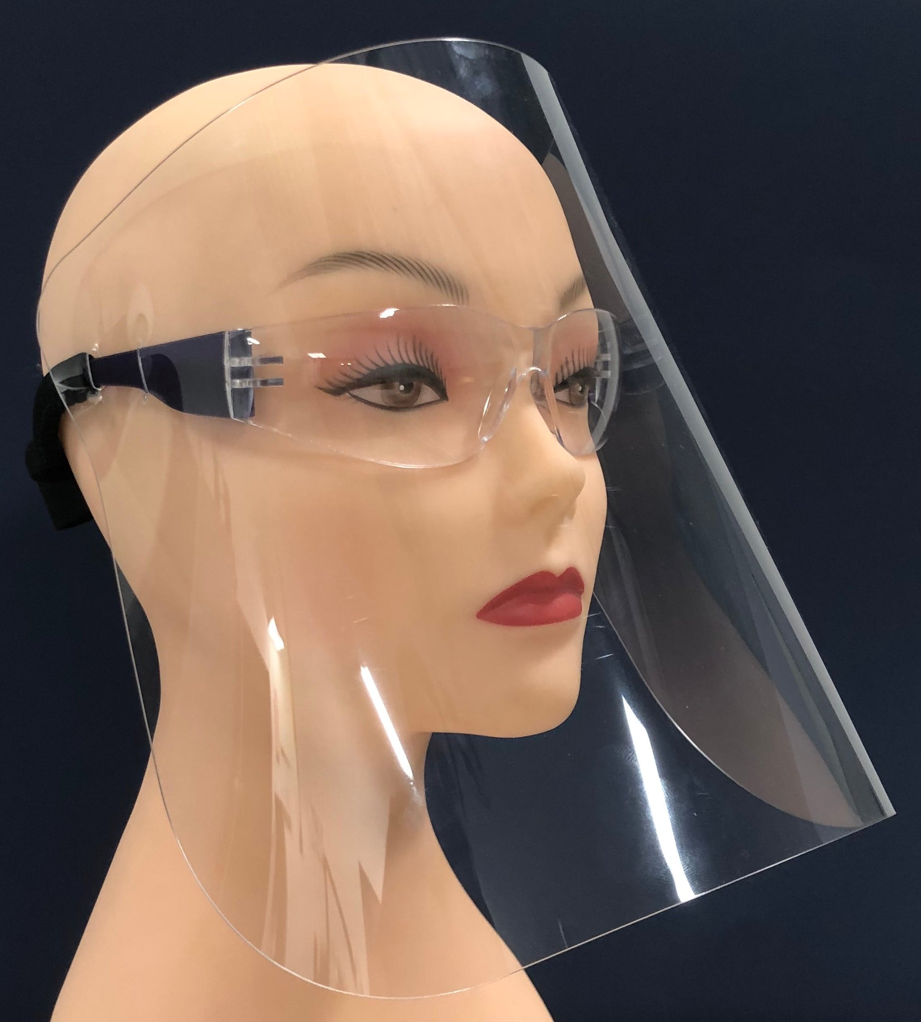 UPF MAX (face shield w/ glasses)
