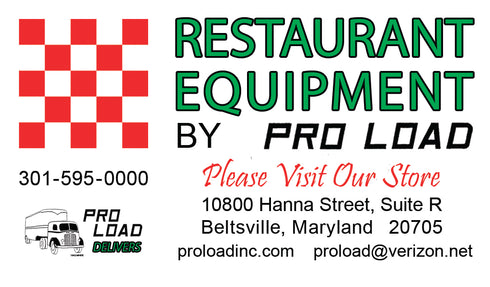 Pro Load Restaurant Equipment