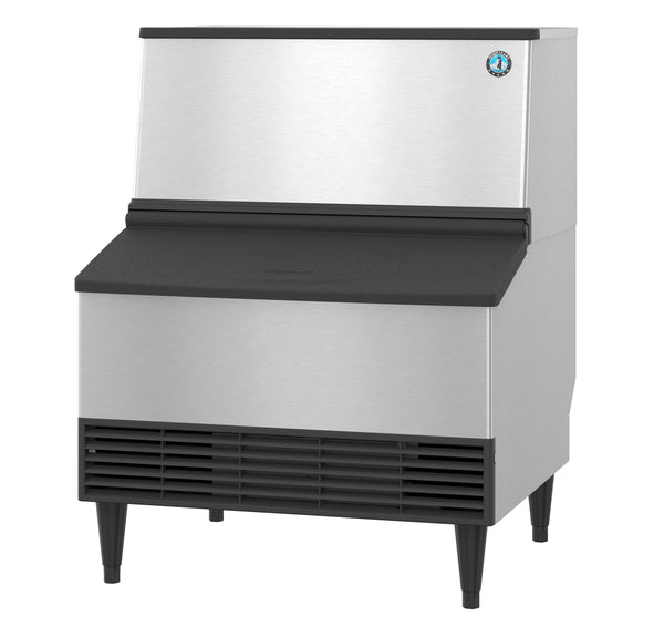 Hoshizaki Crescent Cuber Icemaker Water-cooled, Built in Storage Bin