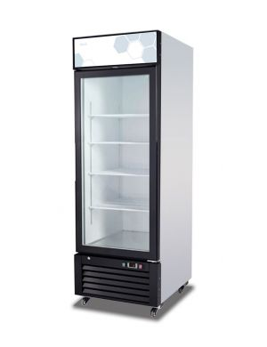Migali 23 cu/ft Glass Door Merchandiser Refrigerator