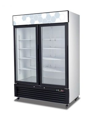 Migali 49 cu/ft Glass Door Merchandiser Refrigerator