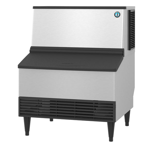 Hoshizaki Crescent Cuber Icemaker, Air-cooled, Built in Storage Bin