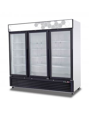 Migali 72 cu/ft Glass Door Merchandiser Freezer