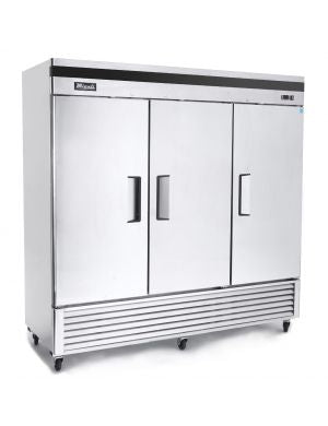 Migali 3 Door Reach-In Freezer