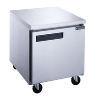 Dukers Single Door Undercounter Refrigerator in Stainless Steel