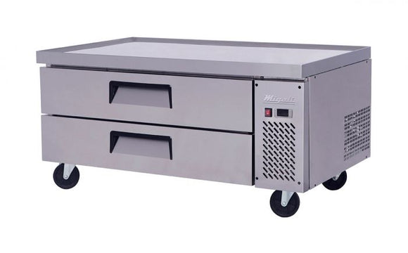 Migali 52″ Wide Refrigerated Chef Base
