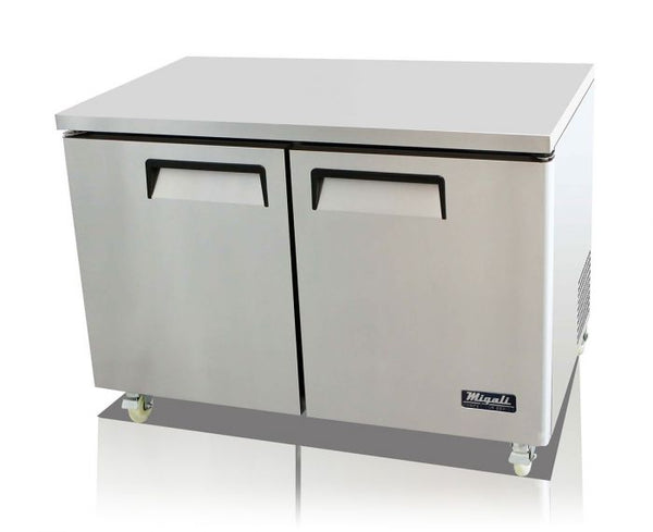 Migali 48″ Under-counter & Work Top Freezer
