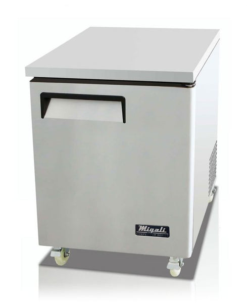 Migali 27″ Under-counter & Work Top Freezer